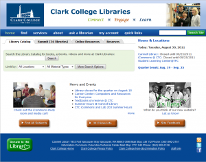 library website graphic