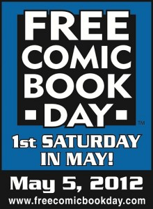Free Comic Book Friday, May 5, 2012