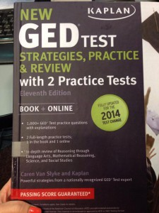 New GED Book Cover