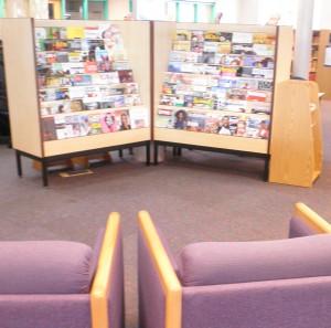 Journals seating area