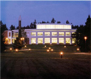 Cannell exterior at night