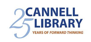 Cannell 25th anniversary logo