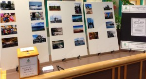 Clark College International Programs 2015 International Photo Contest Display in the Cannell LIbrary