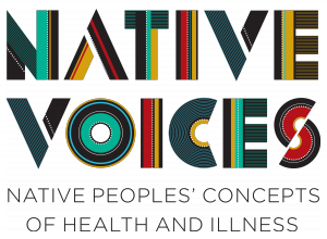 Native Voices Logo: Native Peoples' Concepts of Health and Illness