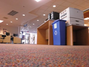 New print station in Cannell Library! Photo by Tammy Boyer
