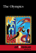 """Cover of """"The Olympics"""" book with stylized figures"""