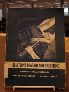 Book titled Blueprint Reading and Sketching