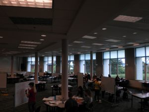 Cannell Library Commons Area