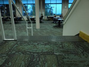 Student Commons Stairway/carpet
