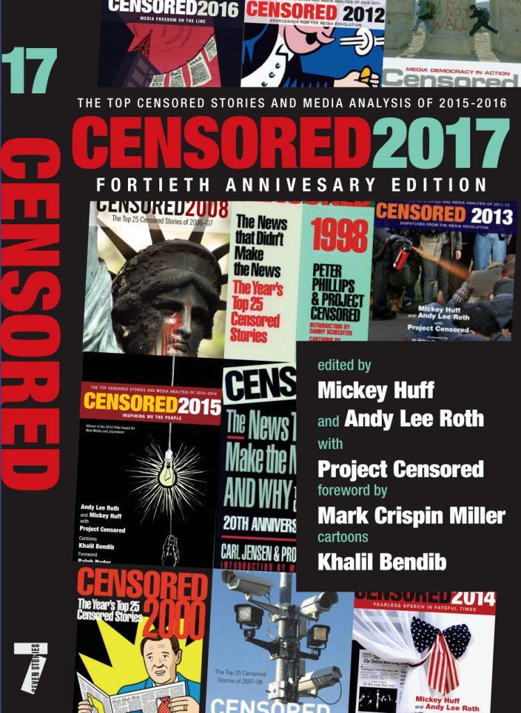 Censored 2017 - book cover - Fortieth Anniversary Edition